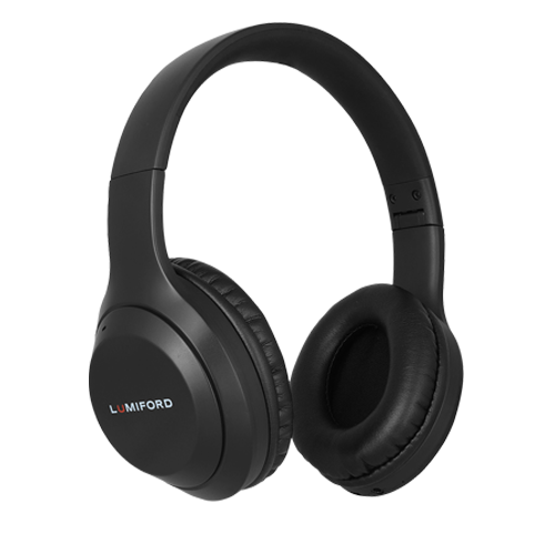 LUMIFORD HD50 Wireless Over-Ear Headphones with Mic