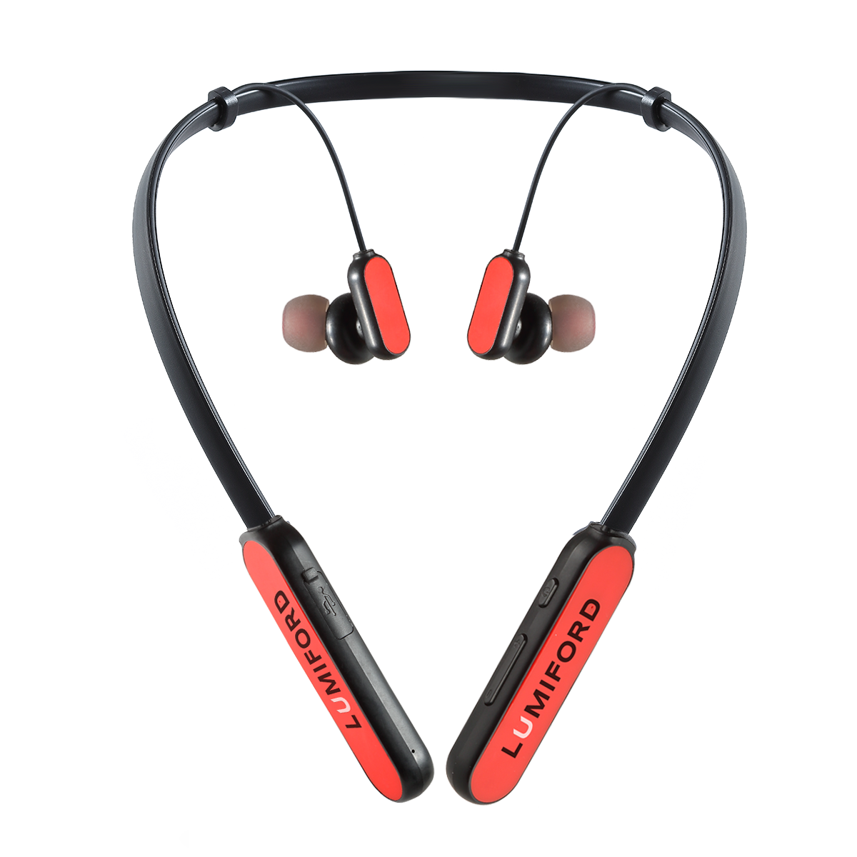 LUMIFORD XP50 Wireless Neckband in-Ear Earphones with Noise Cancellation