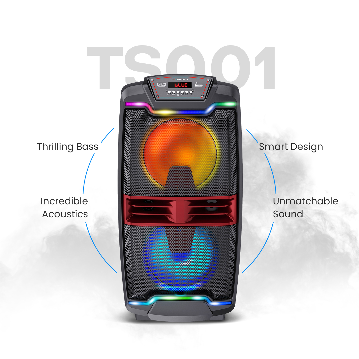 Lumiford TS001 Party Speaker