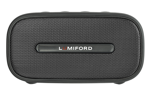 LUMIFORD Table Top Portable Bluetooth Speaker