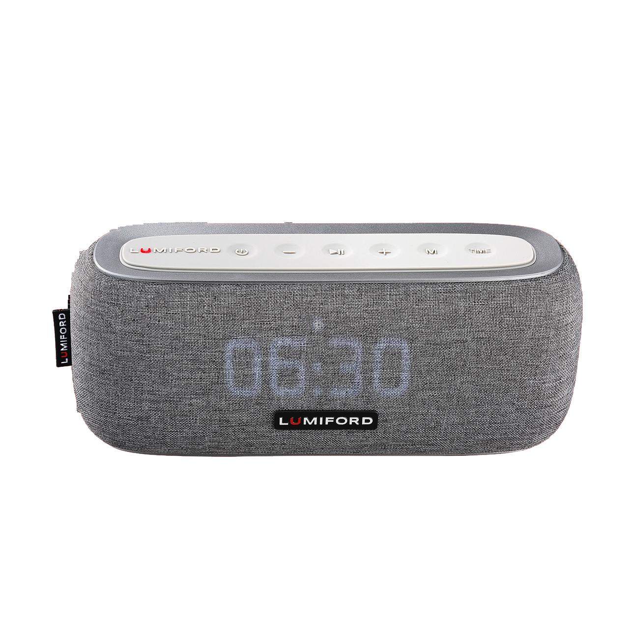 LUMIFORD 3-in-1 Digi Clock Portable Speaker